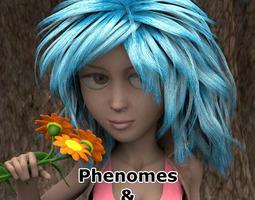 Malvina Phenomes for Poser 3D model