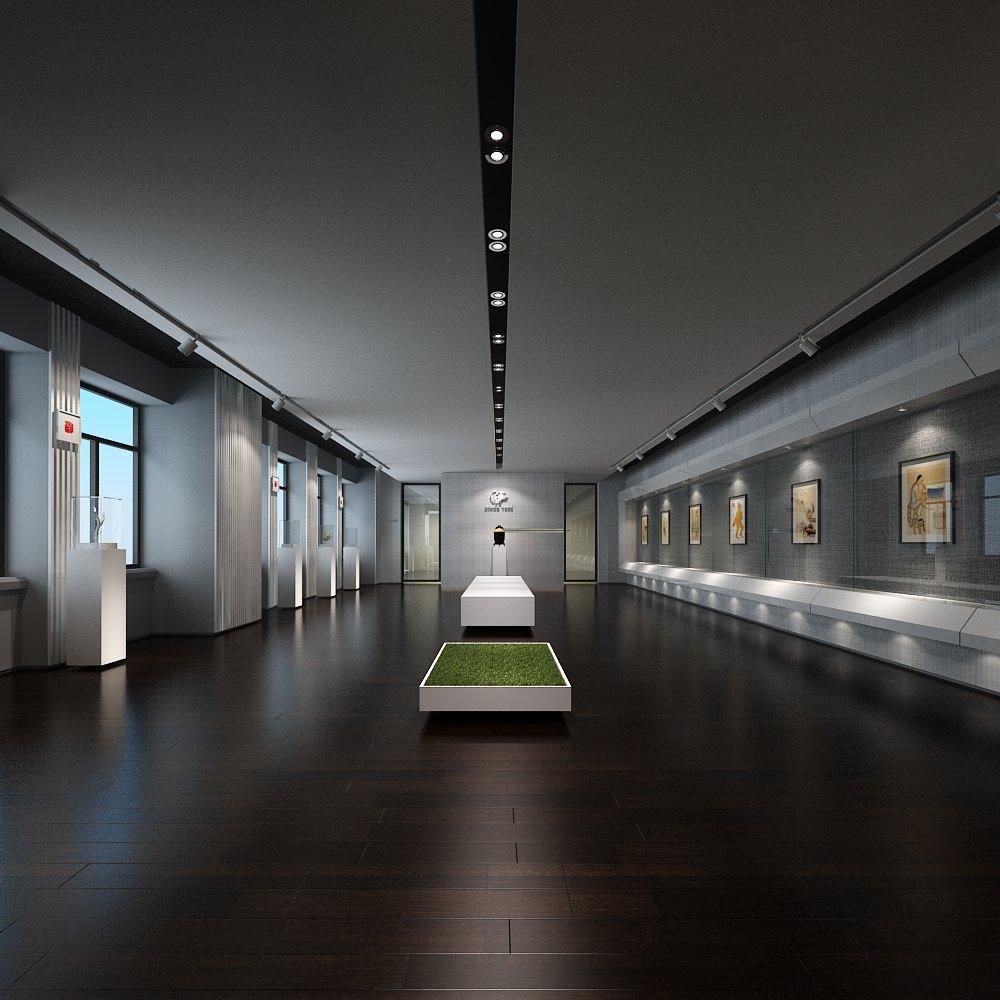 Modern museum | 3D model