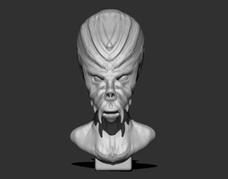Grid_alien_bust_2_3d_model_obj_stl_73fbbbf0-b5a7-4061-9e1b-914a8e1706a6