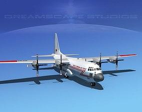 Lockheed C-130 Hercules RCAF 3D model