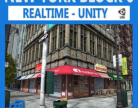 NYC Block 6 Unity 3D asset