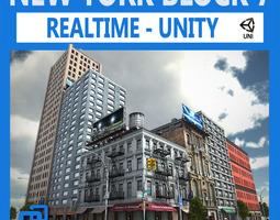 NYC Block 7 Unity 3D Model