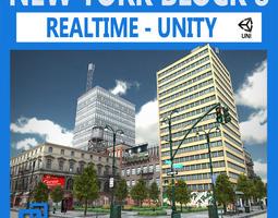 NYC Block 8 Unity 3D Model