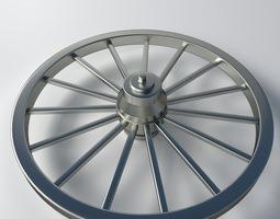 Metal Wheel 3D Model