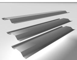 3D model Metal Profile - Steel Pile 005