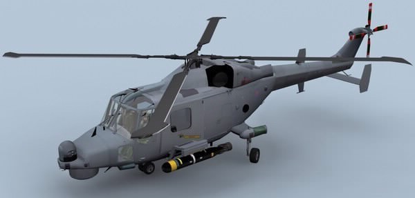Lynx Wildcat AW159 Royal Navy Helicopter3D model