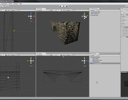 3d asset stonebridge unitypackage game-ready