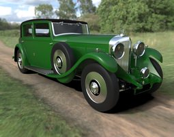 Bentley 1931 8 Litre 3D Model