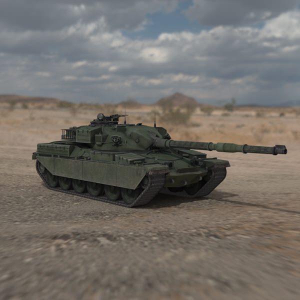 Chieftain British Army Tank