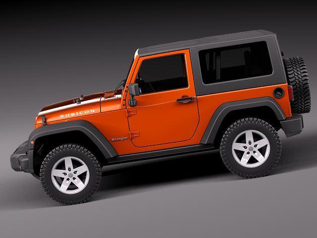 jeep wrangler rubicon 2012 3d model 3d model max obj 3ds fbx c4d lwo lw lws. Black Bedroom Furniture Sets. Home Design Ideas