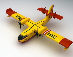 Canadair CL-415 3D Model