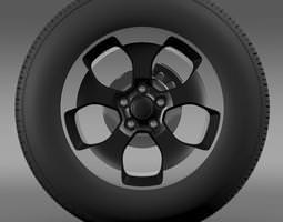 Jeep Wrangler Polar 2014 wheel 3D Model