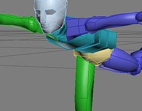 Biped Tester 3D model