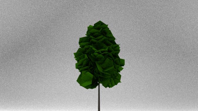 Low Poly Tree3D model