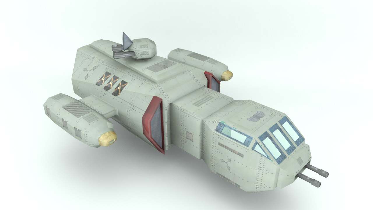 Deep space freighter