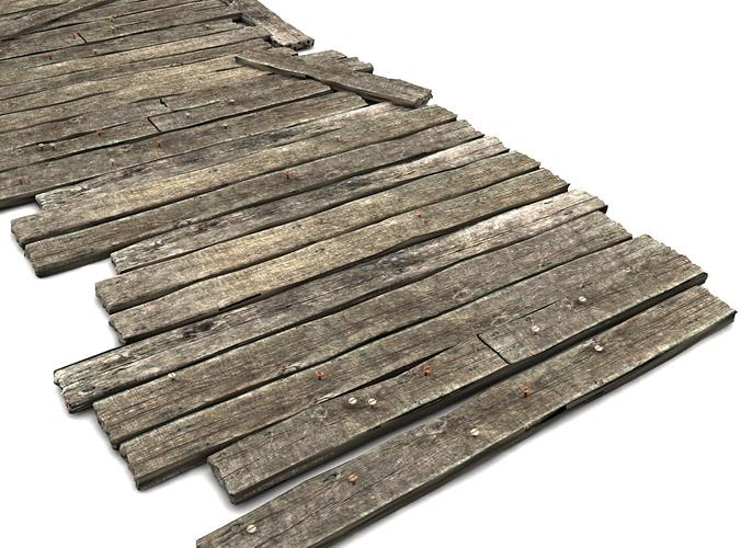 Temporary Wooden Floor