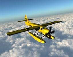 DHC 3 Otter Poser Vue 3D model