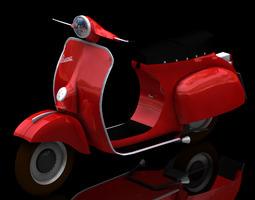 Vespa (Poser) 3D Model