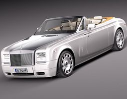 Rolls-Royce Phantom Drophead Coupe 2013 3D Model 3D Model