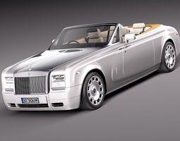 Rolls-Royce Phantom Drophead Coupe 2013 3D Model 3D Model