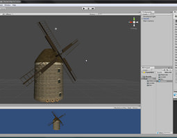 3D asset littleMill unitypackage