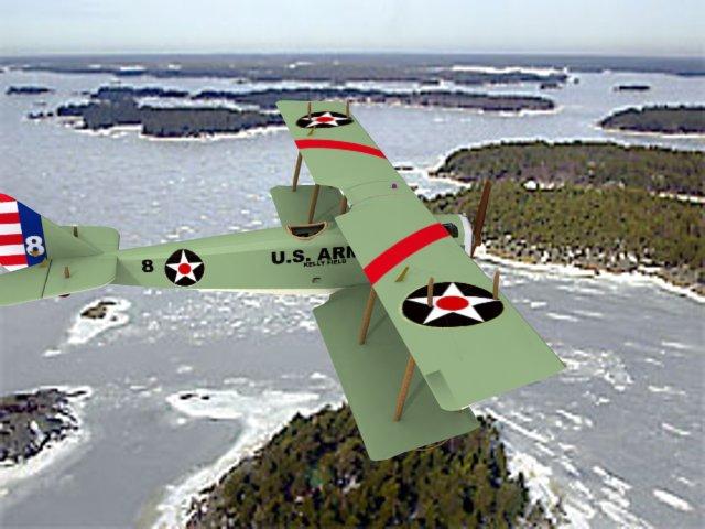 Curtiss JN-2 Jenny US Army