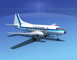 3D Martin 404 Eastern Airlines 2