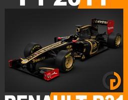 F1 2011 Renault R31 - Lotus Renault GP 3D Model
