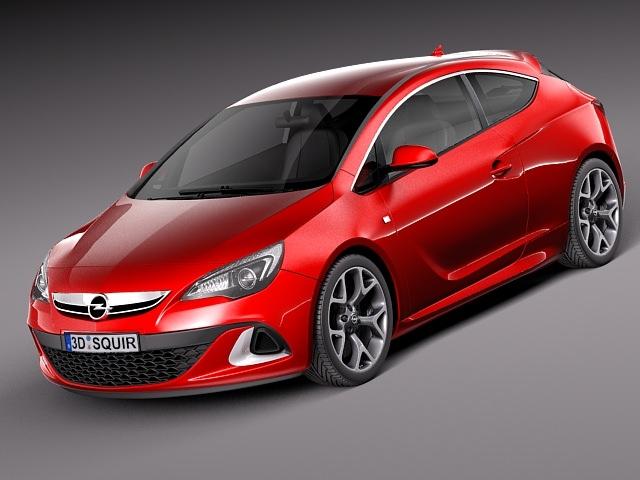 Opel Astra OPC 20133D model