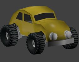 escarabajo 3D asset