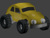escarabajo 3D Model