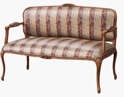 3d model sofa classic