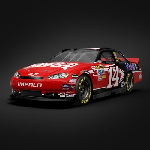 Tony Stewart Chevrolet I... 3D Model