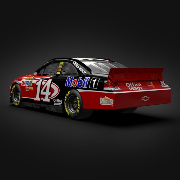 Tony Stewart Chevrolet I... 3D Model MAX