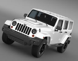 Jeep Wrangler Polar 2014 3D Model
