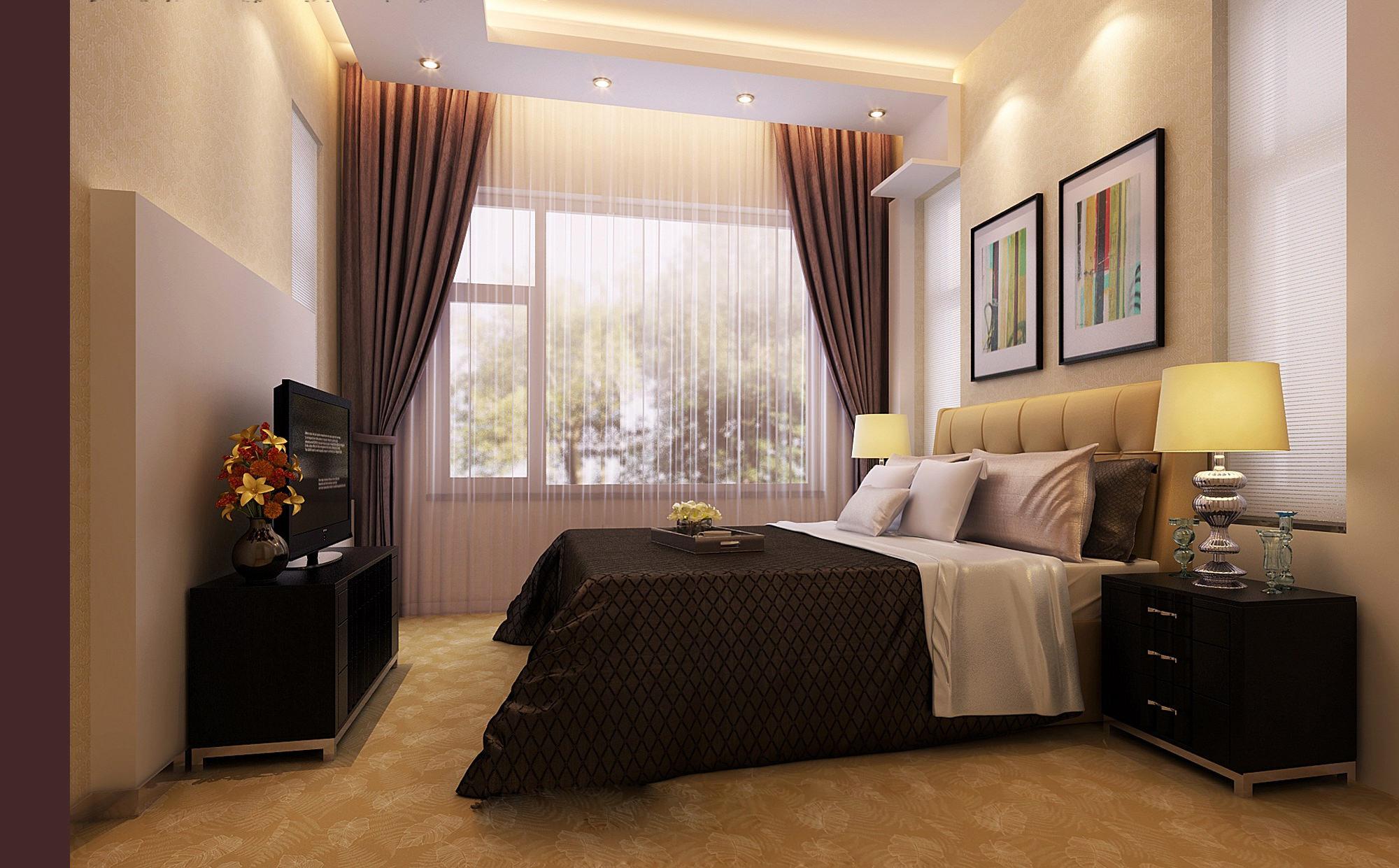 Modern Design Cosy Bedroom 3D Model .max - CGTrader.com on New Model Bedroom Design  id=99533