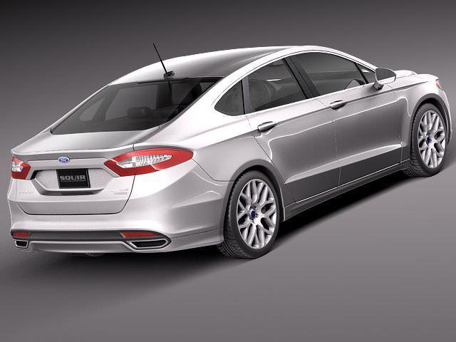 Ford Fusion 2013 3D Model .max .obj .3ds .fbx .c4d .lwo .lw .lws ...