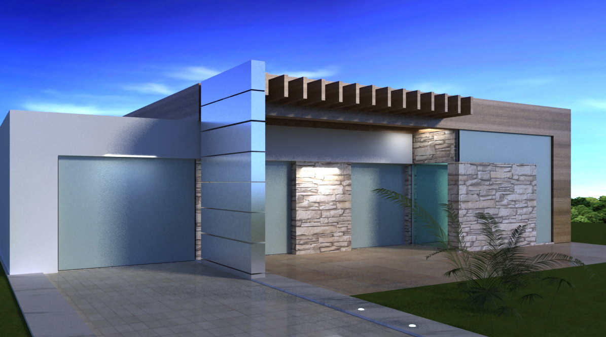 Modern house model pictures for House designs 3d model