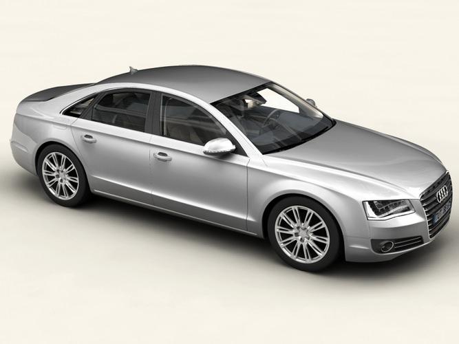Audi A8 20113D model