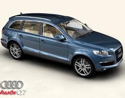 vehicle Audi Q7 3D