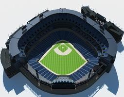 3D model Baseball Stadium