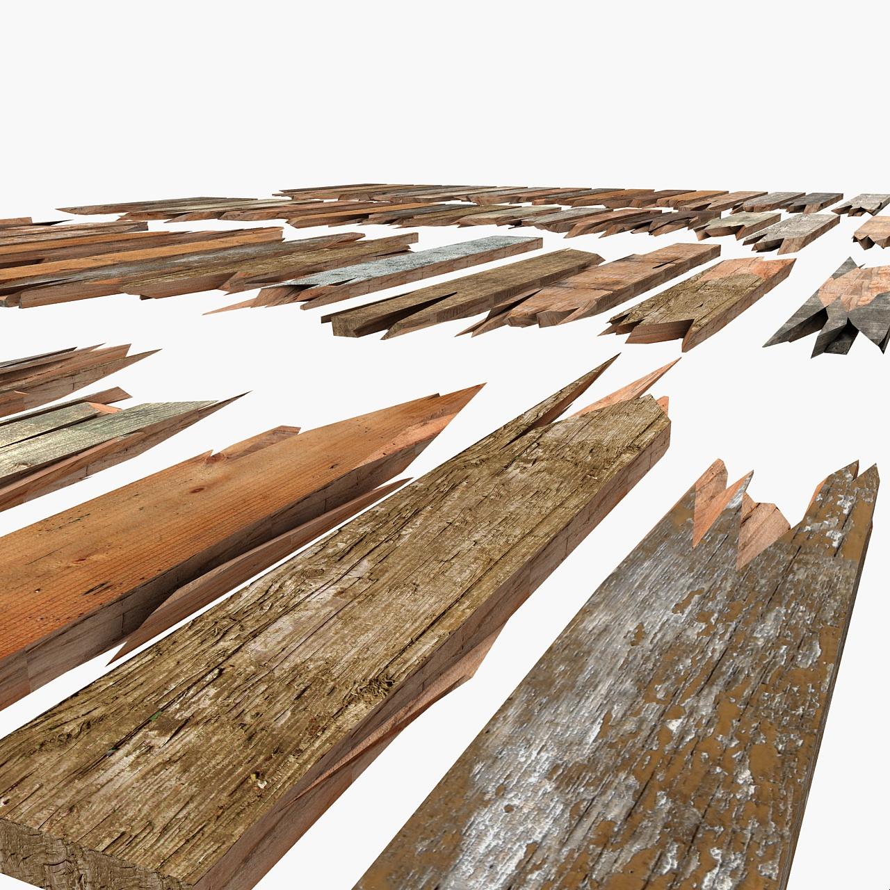 Wooden broken plank damage lumber sa