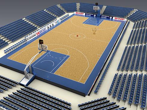 basketballcourt 3d model max obj mtl 3ds tga 1