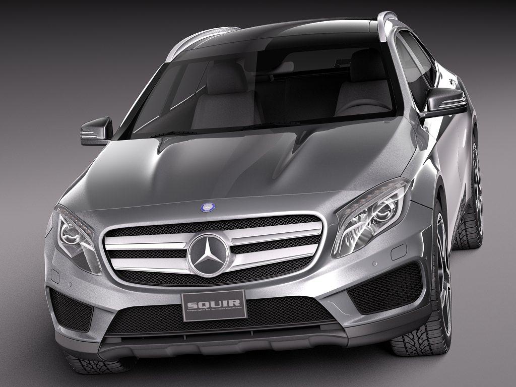Mercedes benz gla amg 2014 3d model max obj 3ds fbx for Mercedes benz gla 2014