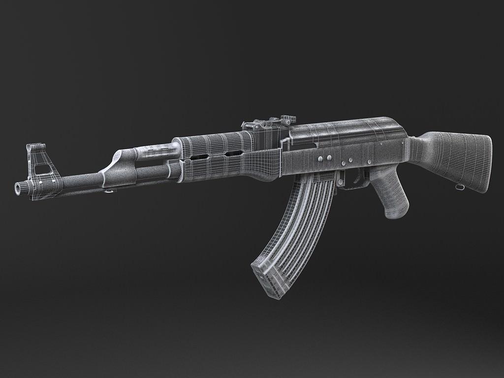 Ak47 Model 3d By Kikillo Deviantart – Wonderful Image Gallery