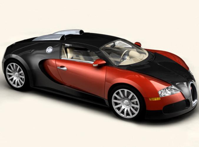 bugatti veyron 3d model max obj 3ds. Black Bedroom Furniture Sets. Home Design Ideas