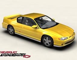 Chevrolet Monte Carlo 2004 3D Model