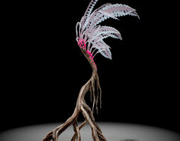 alien fern 3d model max