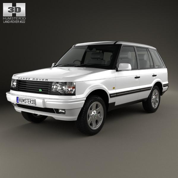 Land Rover Range Rover 1998 3D Model MAX OBJ 3DS FBX C4D