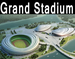 Grand Stadium 017 Arena By The Water 3D